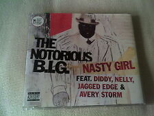 THE NOTORIOUS B.I.G - NASTY GIRL - UK CD SINGLE