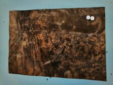 CONSECUTIVE SHEETS OF AMERICAN BURR WALNUT VENEER 46 X 32 cm AM#285 DASHBOARD