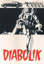 cartolina DIABOLIK promocard 099 (1990) versione adesiva tiratura 450 copie