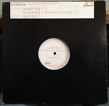 "Jon Delerious - No Warning 12"" Mint- NT030 Tech House Canada 2003 Nordic Trax"