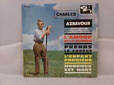 Charles Aznavour – L'Amour Et La Guerre                 Barclay – 70 342