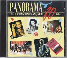 CD ALBUM PANORAMA 80 CHANSON FRANCAISE VOL 3  / TELEPHONE STARSHOOTER JEANNE MAS