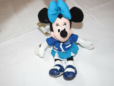 "The Disney Store  Mini Bean Bag Letterman Minnie 8"" Class of '01 Pre owned"