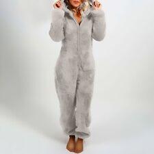pyjama femme polaire en peluche doux et chaud pour les nuit d'hiver