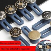 2pcs / set jean rétractable bouton utile