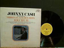 JOHNNY CASH Original Golden Hits Volume 2     LP   Great!