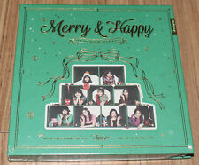 TWICE 1st Album Repackage Merry & Happy MERRY CD + PHOTOCARD + POSTER IN TUBE