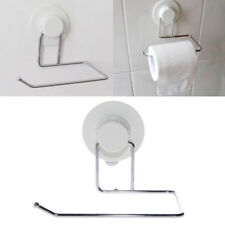Toilet Paper Holder Suction Hanger Tissue Rack Kitchen Towel Hook Bathroom