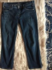 CITIZEN'S OF HUMANITY Size 28 Cropped Skinny Jeans Dark Wash Great Condition