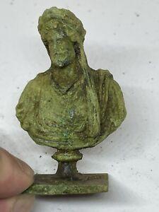 Roman Bronze Statue Of Senator 1st-3rs Century