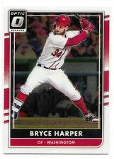 Bryce Harper Washington Nationals 2016 Donruss Optic Baseball Card #117 Mint