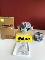 Nikon Nikkor AF 85mm f/1.4G Boxed, Excellent!