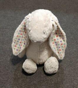 """Jellycat Bashful Polka Dot Bunny Rabbit Medium Stuffed Animal 16"""" Plush"""
