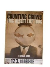 The Counting Crows Poster Concert Berlin Desert Life