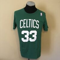 Larry Bird Adidas Boston Celtics Men's Player Jersey T-Shirt Size Medium Green