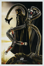 SPIDERMAN 2 Advance Rare Dr Octopus 27x40 ORIGINAL MOVIE POSTER