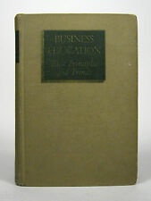 Business Education Herbert Tonner 1939 First Edition Principle Trend HC English