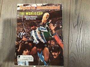 Sports Illustrated - July 3, 1978 The World Cup Argentina's Daniel Passarella