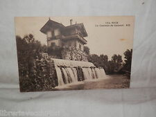 Vecchia cartolina foto d epoca di La Cascade de Gaivaut Nice Rostan et Munier