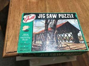 304 piece vintage Guild Jigsaw Puzzle- complete!!