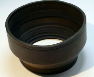 Rubber Lens Hood Shade collapsible (missing threaded ring) - parts
