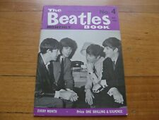 THE BEATLES - ORIGINAL MONTHLY BOOK No. 4 - NOVEMBER 1963 - UK FIRST ISSUE
