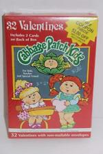 Vintage Cabbage Patch Valentines 32 Cards Envelopes 1992 NEW NIP FREE SHIPPING!