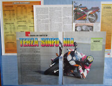 MOTOSPRINT994-PROVA / TEST-1994- YAMAHA FZR 1000 EX UP - PROVA VERITA' - 5 fogli