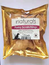 Naturals by ANCO Porky Scratchings 80g ~ 100% Natural ~ Gluten Free Dog Chews