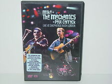 "*****DVD-MIKE & THE MECHANICS + PAUL CARRACK""LIVE AT SHEPHERDS BUSH LONDON""*****"