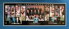 THE 1997 FOOTY SHOW LIMITED EDITION MOUNTED POSTER AUTHENTIC SIGNED BY 3 - COA