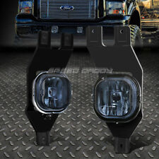 FOR 99-04 FORD F250 F350 F450 SUPER DUTY EXCURSION SMOKED LENS FOG LIGHT LAMPS