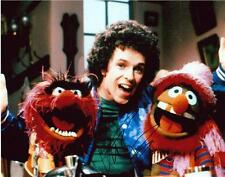 """Leo Sayer - Colour 10""""x 8"""" Signed 'With The Muppets' Photo - UACC RD223"""
