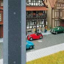 * Busch scala N 8138 strada adesiva con marciapiedi 6,5 cm x 1 m Nuova