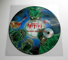 Autopsy - Severed Survival UK 1990 Peaceville Picture Disc LP