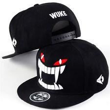 Fashion Mens Big Teeth Hip-hop Bboy Baseball Cap Snapback Adjustable Flat Hat