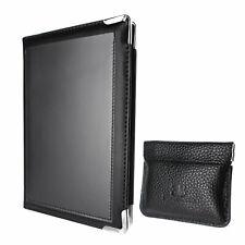 Deluxe Server Book for Restaurant Waiter Waitress Waitstaff   Black  10 Pockets