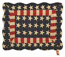 Tyler Patriotic Americana Stars & Stripes Quilted Placemat