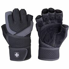 Harbinger Strength Training Gloves, Straps & Hooks