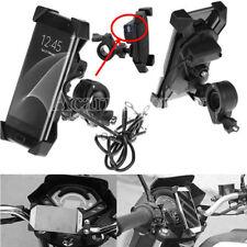 Motorcycle USB Charger Mobile Holder For Honda Goldwing GL 1100 1200 1500 1800