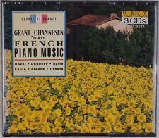GRANT JOHANNESEN: Plays French Piano Music VOX BOX 3x CD NM Original