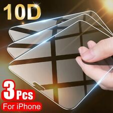 3PCS Full Cover Protective Glass For iPhone 11 Pro X XR XS Max Screen Protector