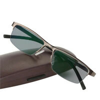 Transition Photochromic Reading Glasses Myopia Hyperopia Rx Custom Metal Frame