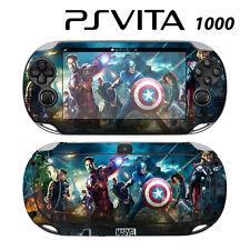 Vinyl Decal Skin Sticker for Sony PS Vita PSV 1000 Avengers 1