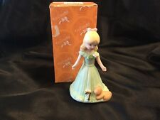 Growing Up Birthday Girls Age 7 Blonde Figurine E-2307