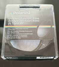 Polaroid 77mm Multi Coated Filtro Uv ningún caso.