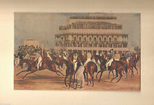 1927 Art Print Liverpool Grand Steeple Race By J. Harris Produced by Studio Art
