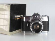 Voigtländer Ultramatic CS mit 2 50 mm 50mm Septon in box  nice set  80146