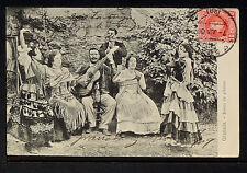 3066.-GRANADA -Danza de Gitanos (Enviada a Mexico en 1909)