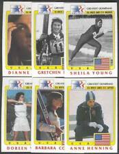 1984 Topps Olympians 6 US female Performers